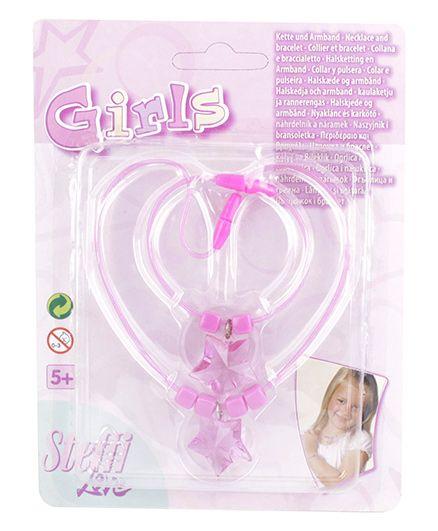 Simba Steffi Love Girls Necklace And Bracelet - Pink
