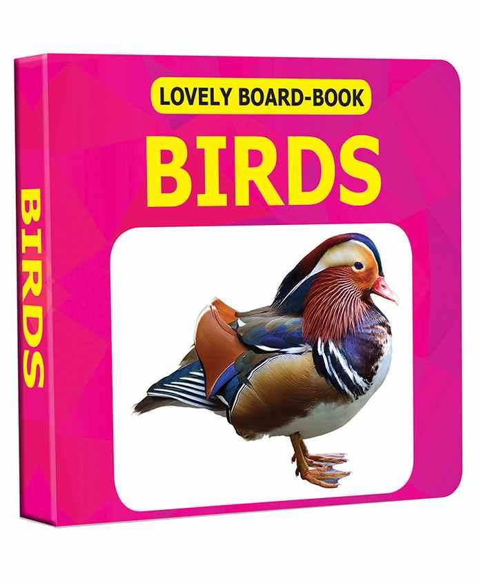 Lovely Board Book - Birds