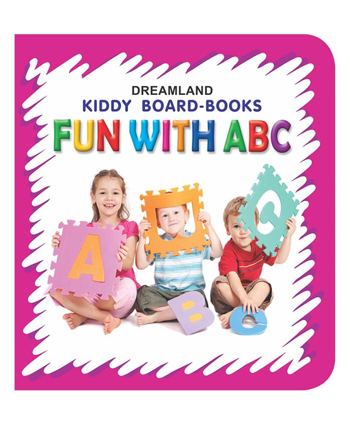 Kiddy Board Book - Fun With ABC