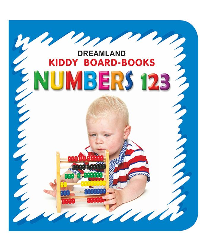 Kiddy Board Book - Numbers 123