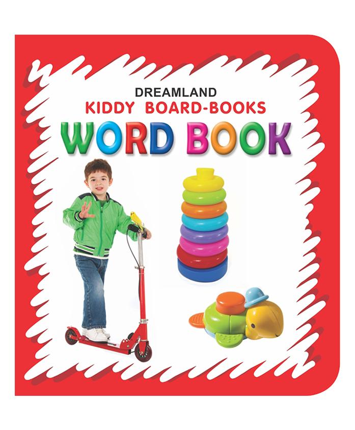 Kiddy Board Book - Word Book