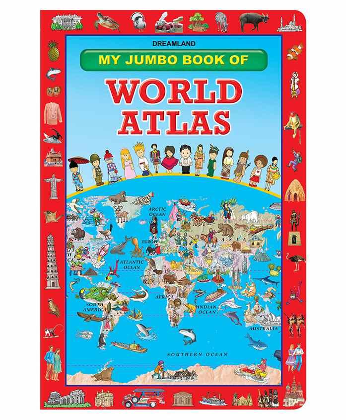 Dreamland - Childrens Pictorial World Atlas