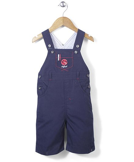 Enfant Stylish Dungaree - Blue