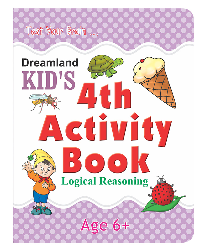 Dreamland - Kids 4th Activity Book Logical Reasoning