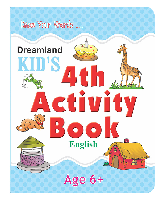 Dreamland - Kids 4th Activity Book English