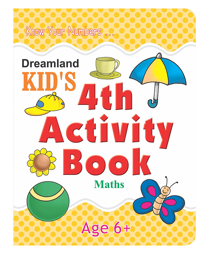 4th Activity Book - Maths