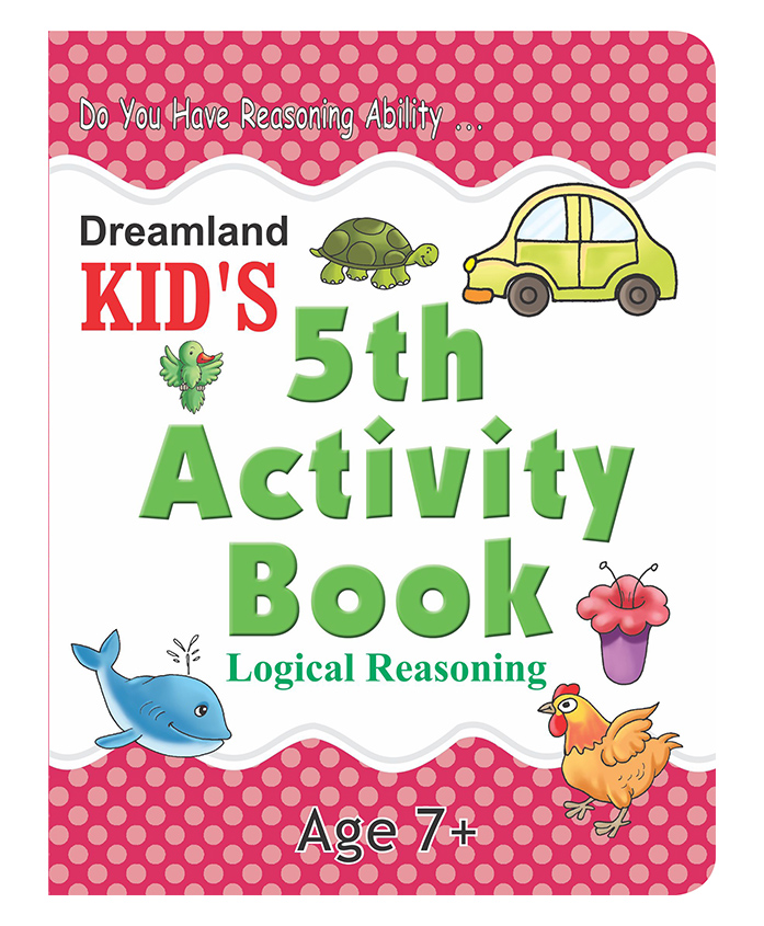 Kids 5th Activity Book - Logical Reasoning