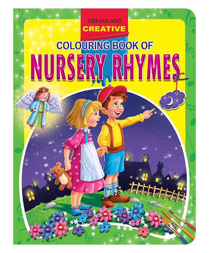 Creative Colouring Book of Nursery Rhymes