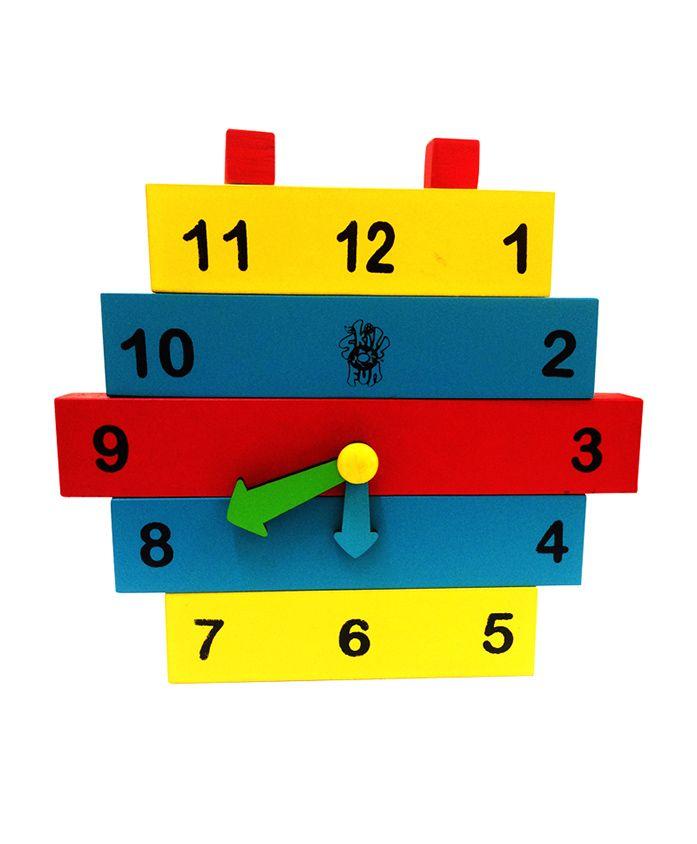 Skillofun - Construction Wooden Clock
