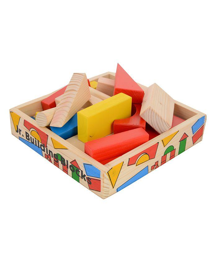 Skillofun Junior Wooden Building Blocks