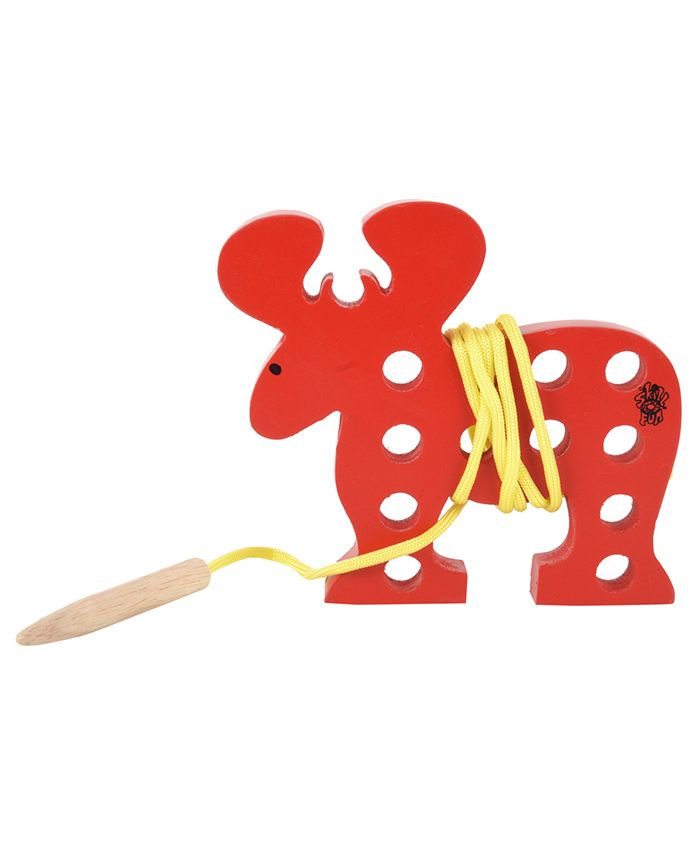 Skillofun - Wooden Sewing Toy Reindeer
