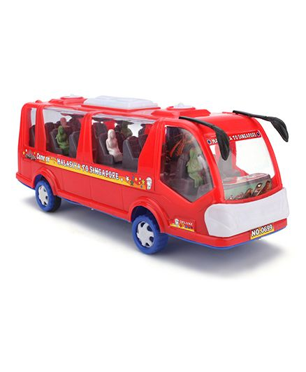 Kids Zone Rocky Tour Toy Bus (Color May Vary)