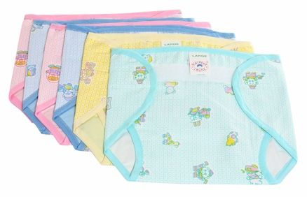 Mothers Choice Nappy Large - Set of 6