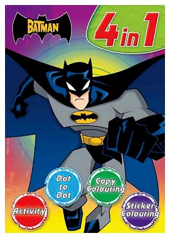 Batman - Batman 4 In 1