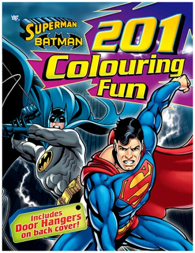 Superman - 201 Colouring Fun Superman And Batman