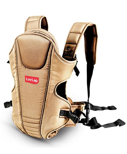 Luv Lap 3 Way Baby Carrier Galaxy Beige - 18206