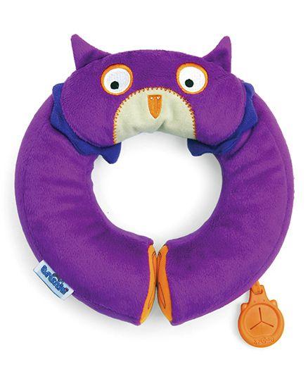 Trunki Yondi Owl Travel Pillow - Purple
