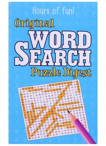 Hours Of Fun Original Word Search Puzzle Digest