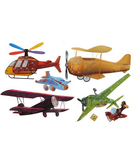 Happykids 3D Wall Stickers - Planes