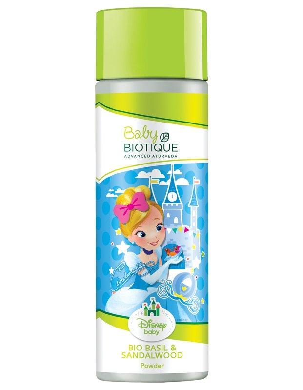 Baby Biotique Disney Princess Cinderella Bio Basil & Red Sandalwood Powder, 150 GM