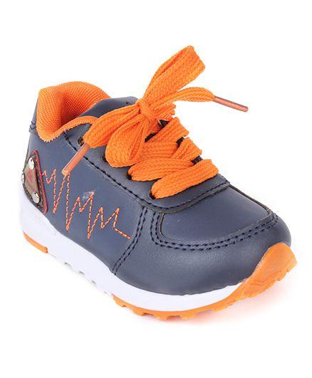 Cute Walk by Babyhug Slip On Style Casual Shoes - Navy Orange