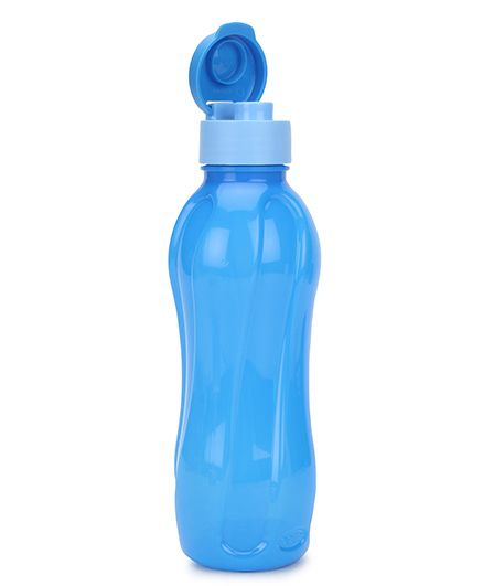 Cello Homeware Flip Top Bottle Blue - 600 ml