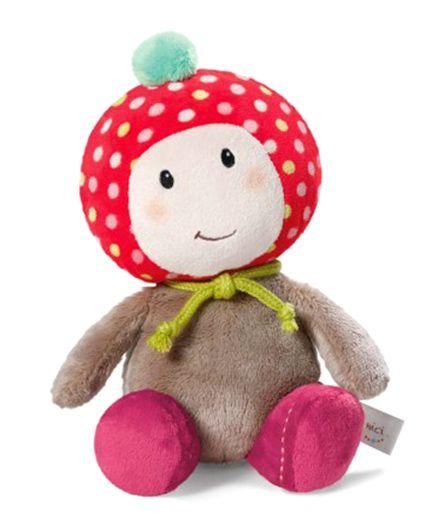 Nici Agaric Maila Soft Toy - Multicolour