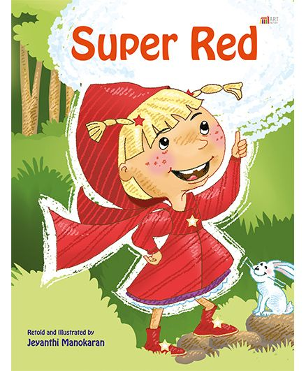 Super Red Story Book - English