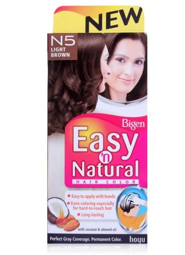 Bigen  -  Easy 'n Natural Hair Colour Light Brown N5