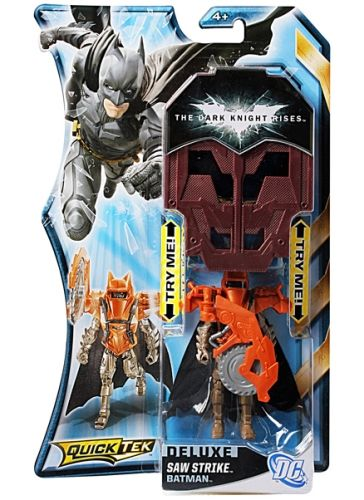 Batman The Dark Knight Rises Quicktek Deluxe Saw Strike - Length 10 cm