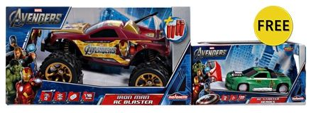 Majorette - RC Avengers Iron Man Blaster 1:16