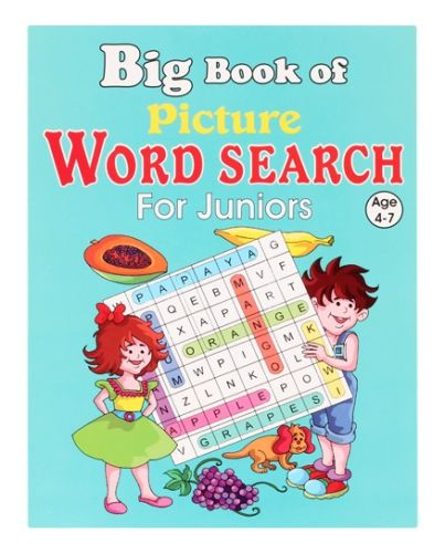 Big Book of Picture Word Search for Juniors