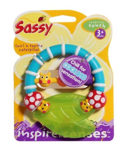 Sassy - Twirl n Teethe Caterpillar