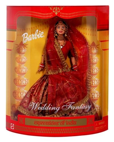 Barbie Wedding Fantasy 3 Years , Barbie In India Doll Free On Purchase Of W...