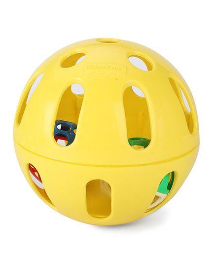 Fisher Price Woobly Fun Ball - Yellow