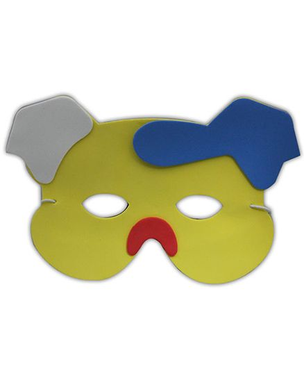 Partymanao Thin Sponge Piggy Mask - Yellow