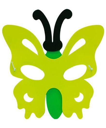 Partymanao Thin Sponge Butterfly Mask - Green