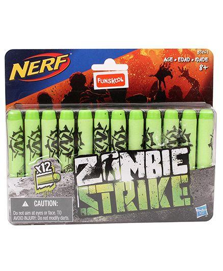 Nerf Funskool Zombie Strike Darts - 12 Pieces