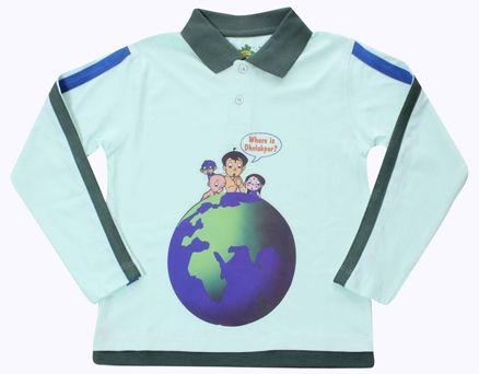 Full Sleeves T-Shirt - Chhota Bheem