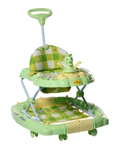 1st Step Baby Walker Cum Rocker - Green