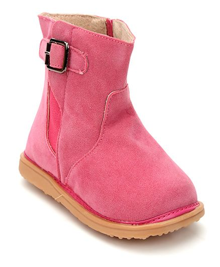 Mooshu Trainers Classy Pair Of Boots - Hot Pink