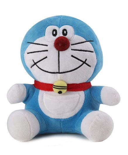 Doraemon Soft Toy Blue - 20 cm