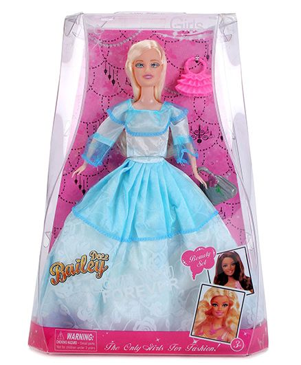 Smiles Creation Bailey Fashion Doll with Accessories Blue - 29 cm