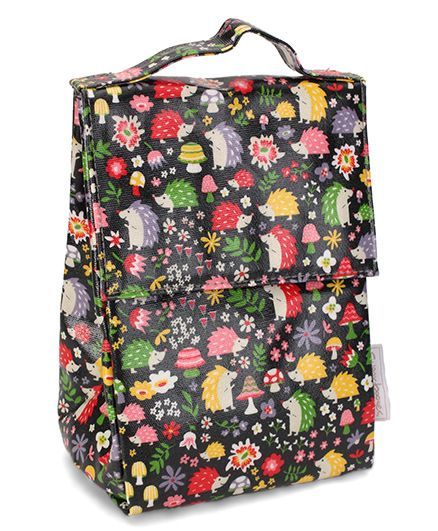 Sugar Booger Multic Print Classic Lunch Sack - Black