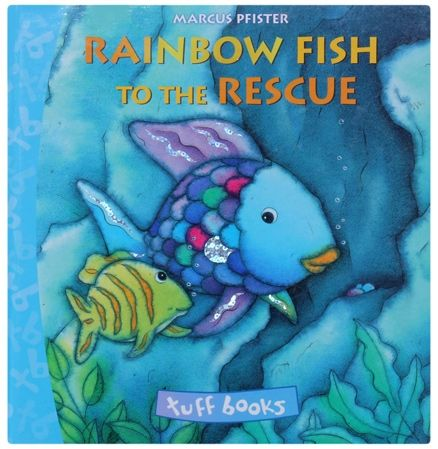 Books books discounts books deals at for Rainbow fish to the rescue