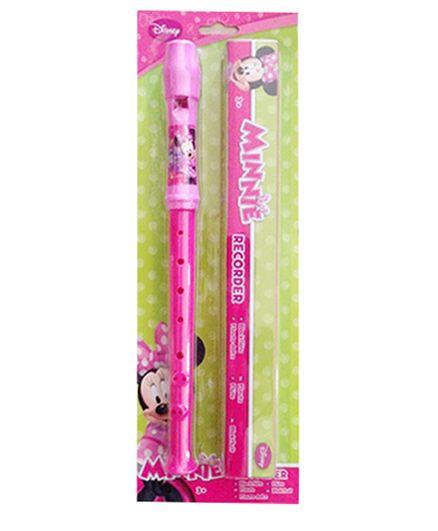 Disney Minnie Flute With Box - Pink