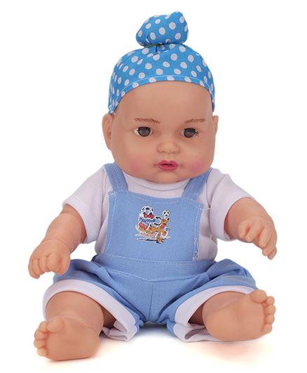 Speedage Happy Singh Junior Doll Blue - Height 9 Inches