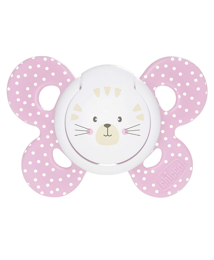 Chicco Physio Comfort Orthodontic Soother - Pink