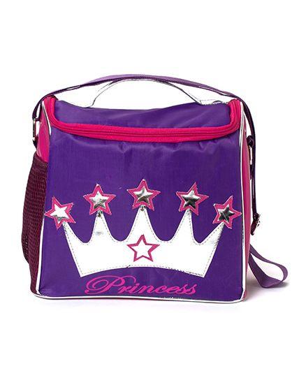 Lill Pumpkins Crown Bags - Purple