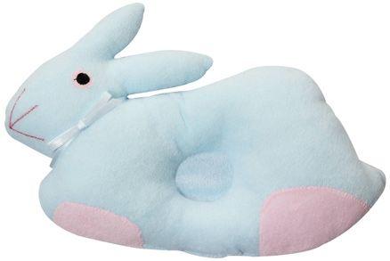 Baby Pillow - Rabbit Shape Light Blue